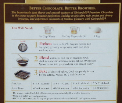 Booniverse Blog Archive Aztec Brownies